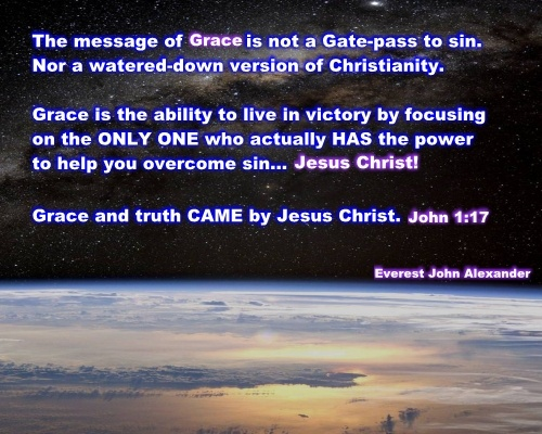 What Is The Message Of  Grace