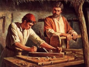 Interview with the Carpenter - Joseph working with Jesus