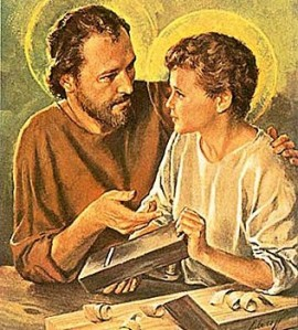 Interview with the Carpenter - Joseph with Jesus