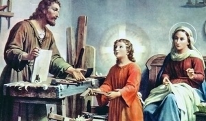 Interview with the Carpenter - Joseph with Jesus and Mary
