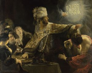 Rembrandt, Belshazzar's Feast (1635), National Gallery, London