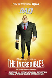Mr Incredible Dad