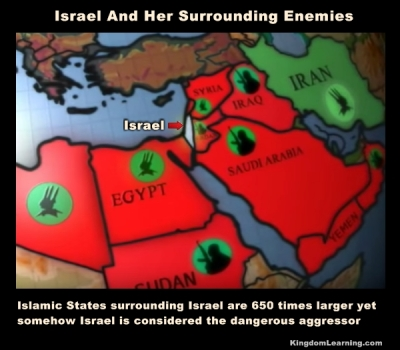 Israel And Her Enemies