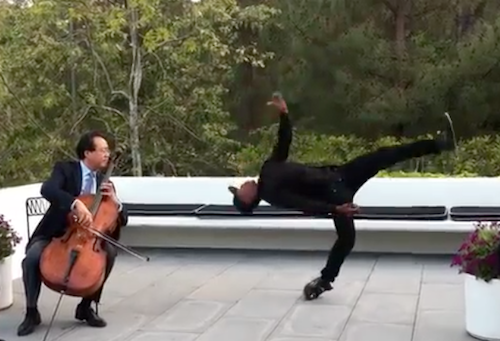 """The Dying Swan"""" Performed by Lil Buck and Yo-Yo Ma 