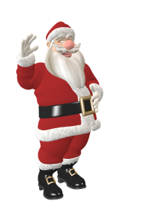 Santa replaces Christ