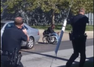 Black Man in Wheelchair
